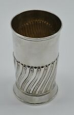 Georgian Sterling Silver Beaker Cup London 1770 Large   NR