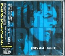 Rory Gallagher Etched in Blue Japan CD w/obi BVCM-37044
