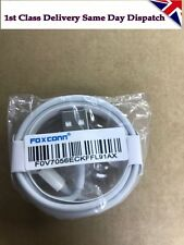 Genuine Apple Lightning To USB Charger 1M - iPhone 6 7 8 X  Cable By Foxconn