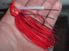 Yank Tackle Custom Swim Jig Lot Of 3 Texas Red Craw 1/2 Oz. Jawbreaker Jig LOOK