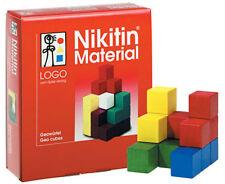 Nikitin jeu-geowürfel/n5 éduque concentration + dans l'espace pensée