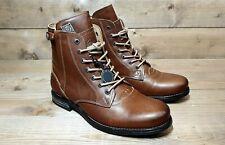 SNEAKY STEVE // Kingdom Cognac // Mens Tan Boots // NEW!!!