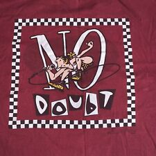 Vintage No Doubt Gwen Stefani L / XL USA Hanes Single Stitch T Shirt