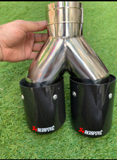 Akrapovic Carbon Fibre Dual Exhaust