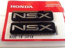 Genuine OEM Acura NSX Door emblem name plate PAIR
