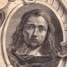 Portrait XVIIIe Érasme II Quellin Erasmus Quellinus II Peintre Peinture 1762
