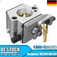 AISEN Vergaser f/ür Stihl 026 MS260 MS 260 024 024AV AV MS240 Motors/ägen Walbro style
