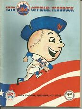 NEW YORK METS YEARBOOKS:  1976, 1977, 1978, 1979, 1980