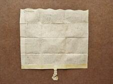 More details for 1594 croxton leicester 16th century elizabethan vellum deed document indenture