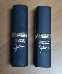 L'Oreal Collection Exclusive by Julianne Lipstick 401 Julianne's Red Lot of 2