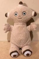 "Makka Pakka In The Night Garden Plush Toy Golden Bear 2007- 7"" High"