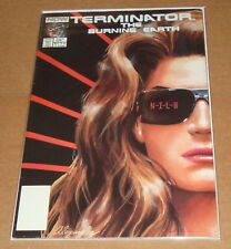 Terminator Burning Earth #2 1st Print 1st Alex Ross Work Now Comics