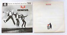"""2 X 7"""" Génesis - 3 X 3 papillate EP & lanzar todo lejos"""