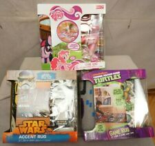 """MY LITTLE PONY, STAR WARS OR TURTLES GAME RUGS 31.5"""" X 44""""  TAKE YOUR PICK BNIB"""