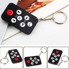 Mini Universal Infrared IR TV Set Remote Control Keychain Key Ring 7 Keys PK