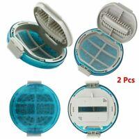 2X Filtro de LINT Redondo Dust Mesh Net Reemplazo Para Lavadora de LG Recambios