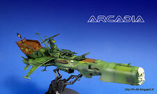Space Pirate Battleship Arcadia scale 1/1500