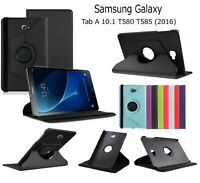 """Case Cover Leather Smart 360 Rotate For Samsung Galaxy Tab A6 10.1"""" T580/T585"""