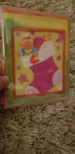 Soap Notes Handmade Greeting Card Christmas Holiday Made of Soap NEW