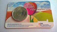 Nederland 2012 Coincard 5 Euro Het Tulpen Vijfje UNC (Zwaar Verzilverd)