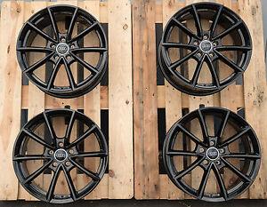 19 Zoll Wheelworld Wh28 Felgen 5x112 schwarz für Audi A3 S3 Octavia RS S-Line RS