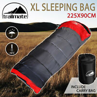Outdoor Camping Sleeping Bag Thermal Hiking Tent Winter -10°C XL Single