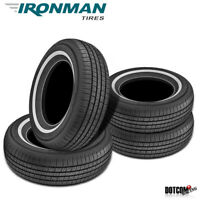 4 X New Ironman RB-12 NWS 215/70R15 98S All-Season Touring Tire
