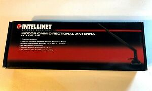 New - Sealed - Intellinet Indoor Omni-Directional Antenna 2.4-2.5 GHz - 524018