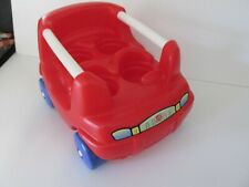 M1 Step2 Chunky People Red Toy Family Car 90's