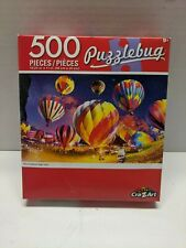 New Puzzlebug Hot Air Ballons Night Glow Jigsaw Puzzle 500 Pieces 9+