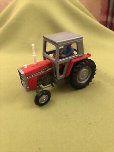 Britains Farm Massey Ferguson Tractor MF 595 1/32 No. 9522