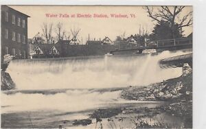 Water Falls at Electric Station, Windsor, Vermont.                             5