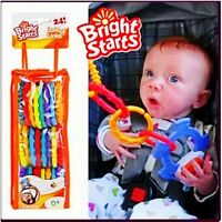 Bright Starts Lots of 24 Baby Kids Children Stroller Accesory Teether Toy Links