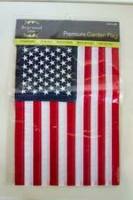"""Briarwood Lane 12.5"""" x 18"""" Garden Flag Usa American Flag #G00018 New In Package"""
