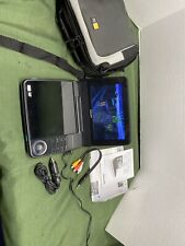 """Philips 7"""" dvd player Widescreen LCD Portable Stereo Dolby DVD Tested PET741/37"""
