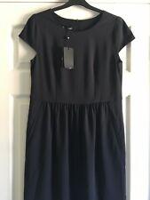 NEW! EMPORIO ARMANI CHIC LITTLE BLACK DRESS £464