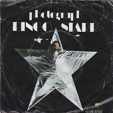 "Single 7"" - Ringo Star ""Photograph // Down and Out"""
