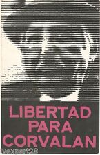 Libertad Para Corvalan Communist Party of Chile (PCCh) Propaganda 1976 Postcard