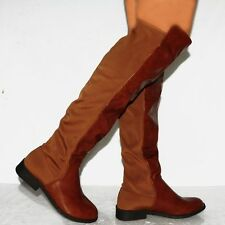 Unbranded Slim Heel Pull On Synthetic Boots for Women