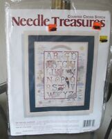Vintage Needle Treasures Counted Cross Stitch Kit 02639 The Nature Sampler