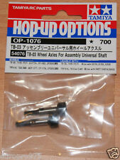 Tamiya 54076 TB-03 Wheel Axles for Assembly Universal Shaft, (TRF416/TB Evo 5)