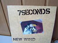 7 SECONDS LP New Wind NEU-OVP 1986