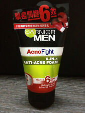 100ml GARNIER MEN ACNO FIGHT Foam Cleanser Face Wash Anti Acne Herb Treatment
