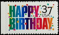 2002 37c Happy Birthday, Confetti Scott 3695 Mint F/VF NH