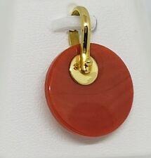 Ciondolo Oro 18 KT e Corallo Rosso del Mediterraneo