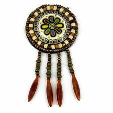 Patch Sewing bag Decoration Inca Kuchi Afghan Banjara Tribal beads AF85