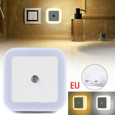 6x LED Motion Sensor Light Wireless PIR Cabinet Stair Lamp Night Lights EU Plug