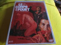 """DVD NEUF """"LE CORPS ET LE FOUET"""" Christopher LEE / film d'horreur de Maria BAVA"""