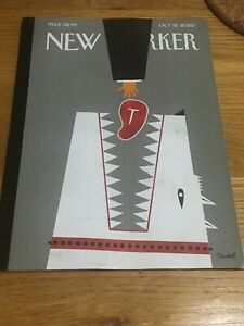 New Yorker Magazine October Oct 12 2020