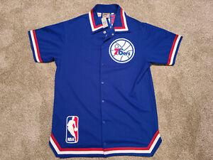 Mitchell and Ness Philadelphia 76ers Sixers 1988-89 Warm Up Jacket Size 48